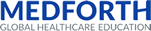 MEDFORTH / Global Healthcare Education Logo